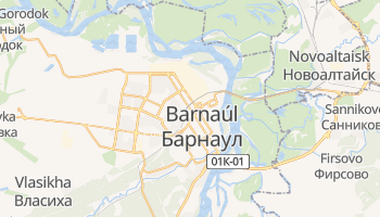 Mapa online de Barnaúl