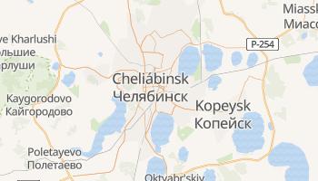 Mapa online de Cheliábinsk
