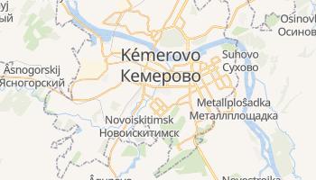 Mapa online de Kémerovo