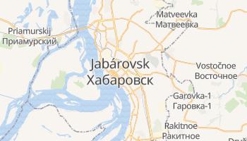 Mapa online de Jabárovsk