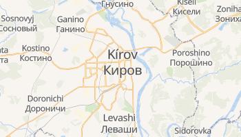 Mapa online de Kírov
