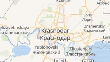 Mapa online de Krasnodar