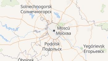 Mapa online de Moscú