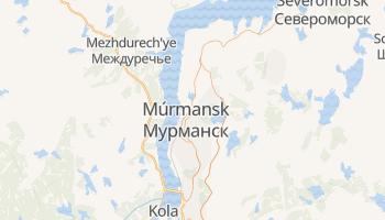 Mapa online de Múrmansk