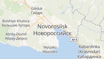 Mapa online de Novorossisk