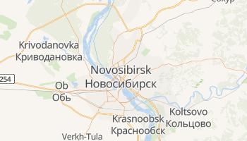 Mapa online de Novosibirsk