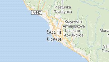 Mapa online de Sochi