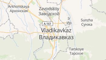 Mapa online de Vladikavkaz