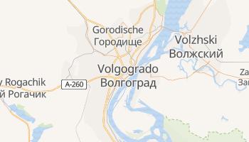 Mapa online de Volgogrado
