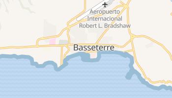 Mapa online de Basseterre