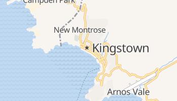 Mapa online de Kingstown