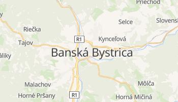 Mapa online de Banská Bystrica
