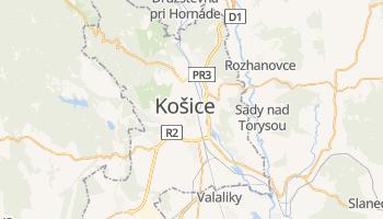 Mapa online de Kosice