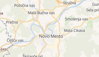 Mapa online de Novo mesto