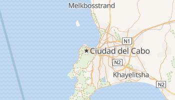 Mapa online de Ciudad del Cabo