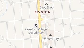 Mapa online de Sandton