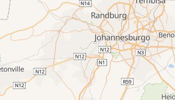 Mapa online de Soweto