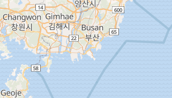 Mapa online de Busan