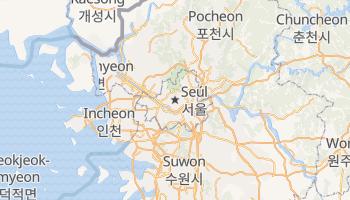 Mapa online de Seúl