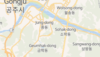 Mapa online de Suwon