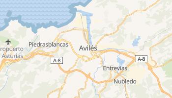 Mapa online de Avilés