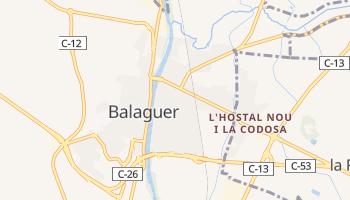 Mapa online de Balaguer
