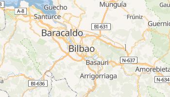Mapa online de Bilbao