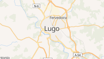 Mapa online de Lugo