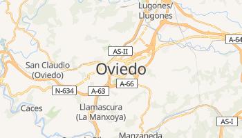 Mapa online de Oviedo