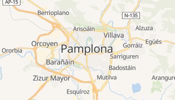Mapa online de Pamplona