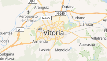 Mapa online de Vitória