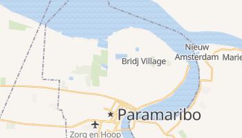 Mapa online de Paramaribo