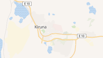 Mapa online de Kiruna