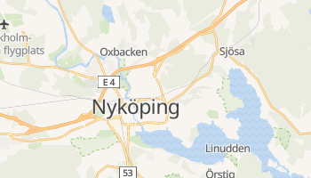 Mapa online de Nyköping