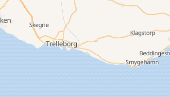 Mapa online de Trelleborg