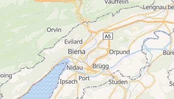 Mapa online de Biel/Bienne