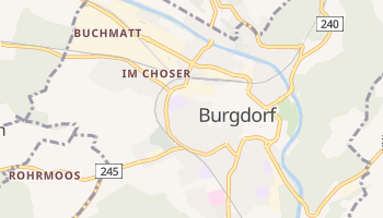 Mapa online de Burgdorf