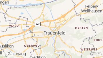 Mapa online de Frauenfeld