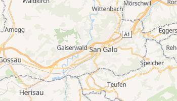 Mapa online de San Galo