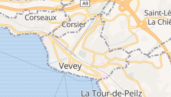 Mapa online de Vevey