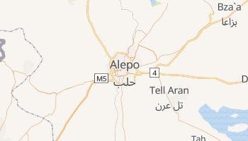 Mapa online de Alepo