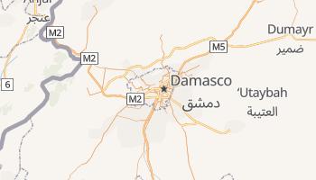 Mapa online de Damasco