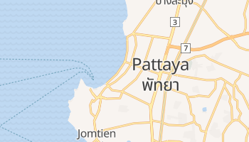 Mapa online de Pattaya