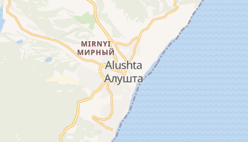 Mapa online de Alushta