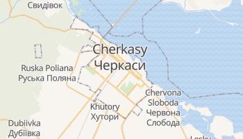 Mapa online de Cherkasy