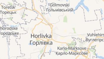 Mapa online de Górlovka