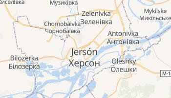 Mapa online de Jersón