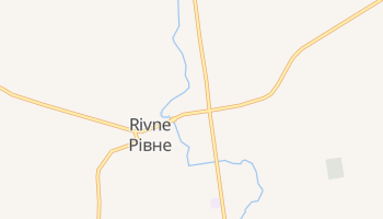 Mapa online de Rivne