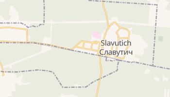 Mapa online de Slavutich