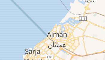 Mapa online de Ajmán